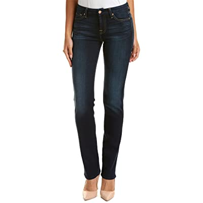 7 For All Mankind Women's Karah Form Fitted Straight Leg Jeans: Clothing