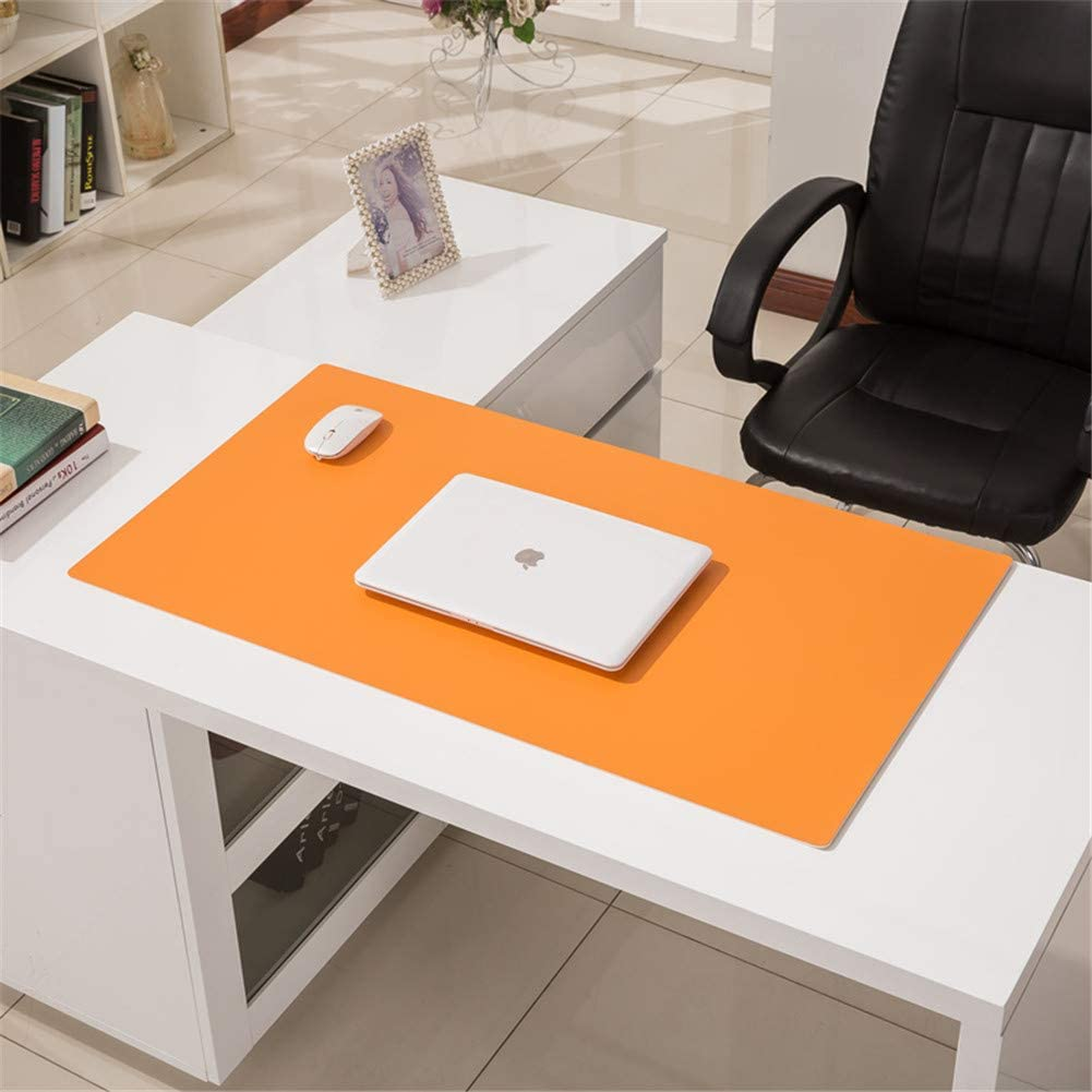 Green, 1400 x 700 x 3.5 mm LL-COEUR Multifunctional Office Table Mat Leather Computer Desk Pad Waterproof Mouse Pad 3.5mm