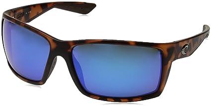 8596983611ae Image Unavailable. Image not available for. Color  Costa del Mar Reefton  Sunglasses Matte Retro Tortoise Blue Mirror 580Glass