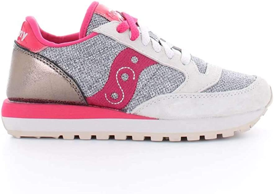 Saucony Sneakers Jazz O' Sparkle Donna SilverRed