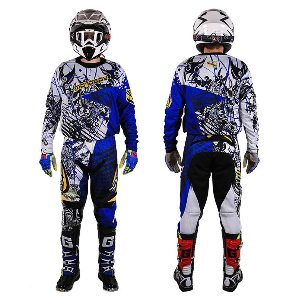 Amazon.com: MOTO-BOY - Trajes de carreras para motocicleta ...
