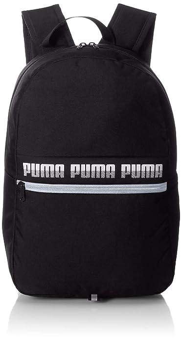 5059c1acc075 Puma 22 Ltrs Black School Backpack (7559201)  Amazon.in  Bags ...