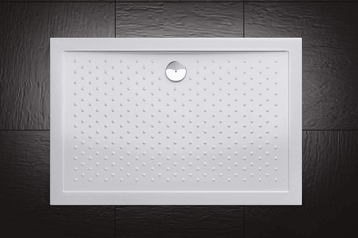 Include Free Waste Kit 900 x 800mm Rectangular Durovin Bathrooms Acrylic Shower Tray Anti Slip Surface Various Sizes