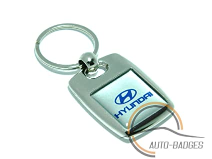 Hyundai Heavy Metal Plateado Llavero: Amazon.es: Coche y moto