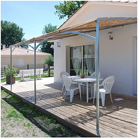 Provence Outillage-Pérgola de pared Mistral 6mx4m: Amazon.es ...