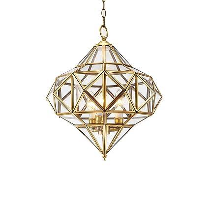 Yousheng-lamp Lámpara de Cristal Comedor lámpara lámpara ...
