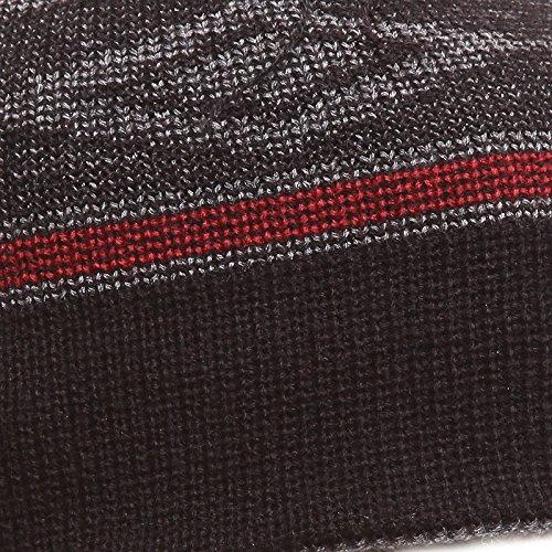 Acvip Unique Noir Tricoter Taille Pour Avec Hiver Pompon Fil Homme Bonnet À Femme Chapeau Chaud Epais 6BIZ6wqr
