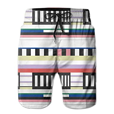 994ece6344 Octopus Swim Shorts Men's Swim Trunks Beach Shorts Board Shorts White