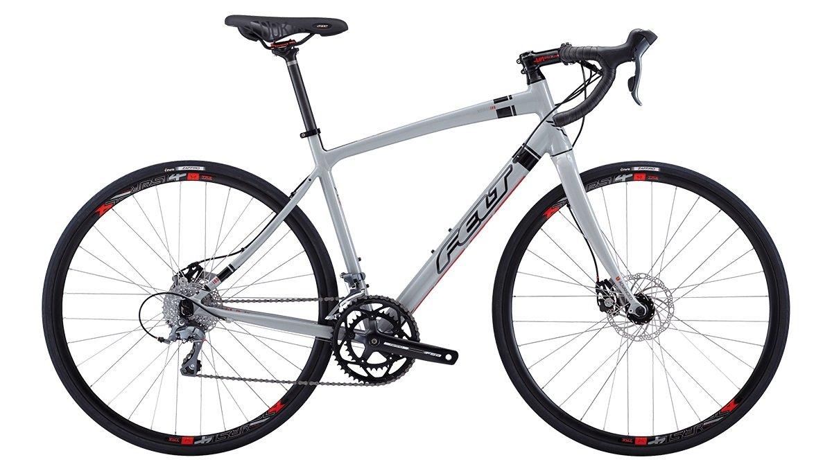 フェルト 2016 V100(ブイ100) ロードバイク B079GTFBL7グロスバトルグレー 540 170-180cm
