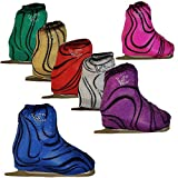 #4: Ice Skate Boot Cover VCBC01 by Victoria's Challenge red pink royal 1 Pair