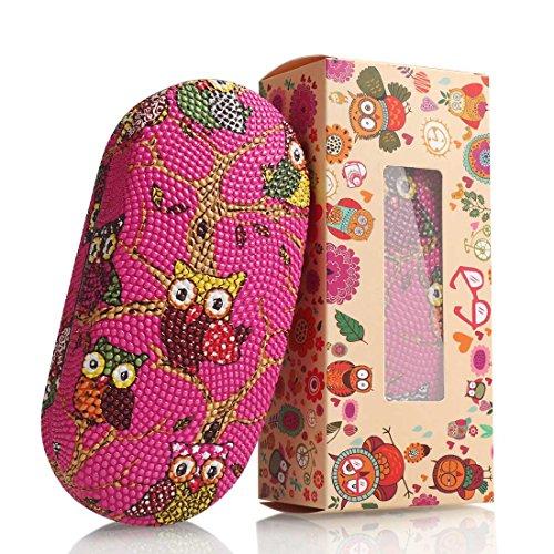 Hard Shell Eyeglasses Case for Kids and Women, Cute Owl ...