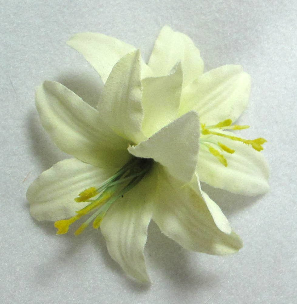 Amazon Ivory Lily Flower Hair Clip White Lily Hair Clip Beauty