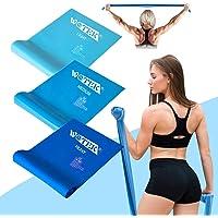 Fitnessbanden, set weerstandsbanden, krachttraining, fitnessband, weerstandsbanden, gymnastiekband, 3 elastieken, voor…