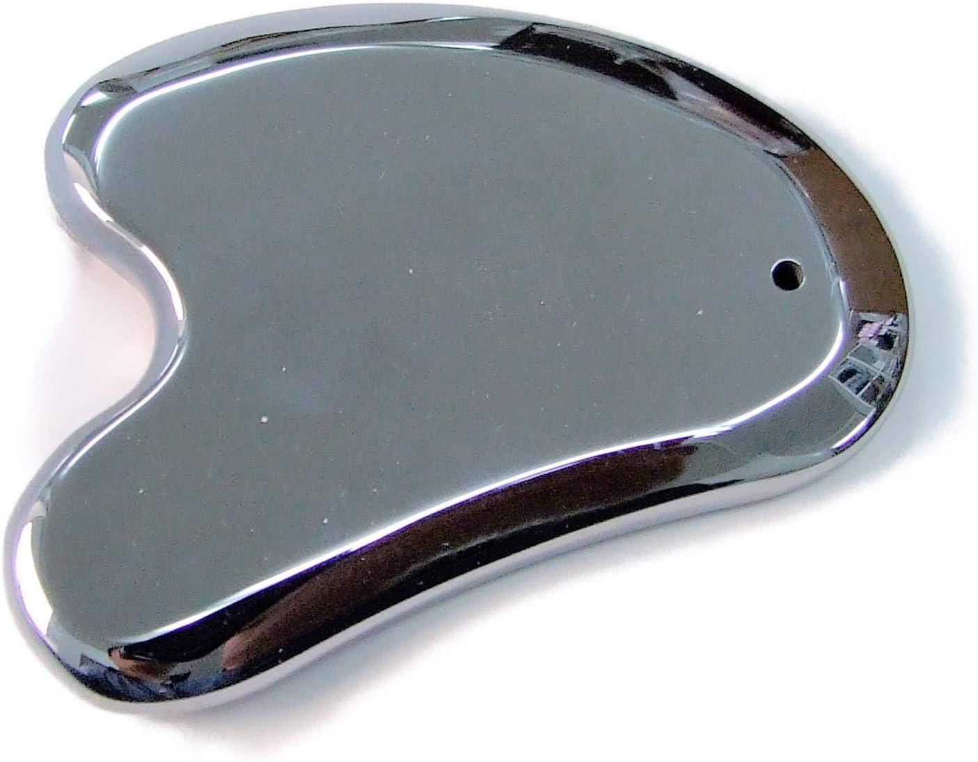 k3-1G テラヘルツ鉱石 かっさプレート M字型 サイズ大 高純度99.9999%