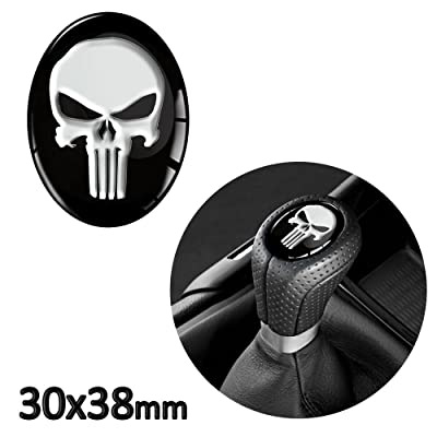 1 x 3D Sticker for Shift Lever Gear Knob JDM S 30: Automotive