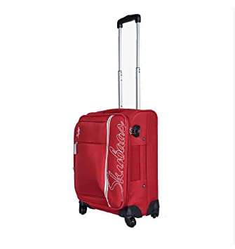 skybags coach 55 cm polyester trolley red amazon in bags rh amazon in