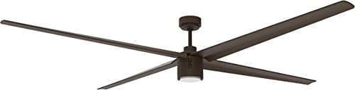 Big Air Industrial Ceiling Fan, 6-Speed Indoor Outdoor Fan with Light 84-Inch Industrial Ceiling Fan