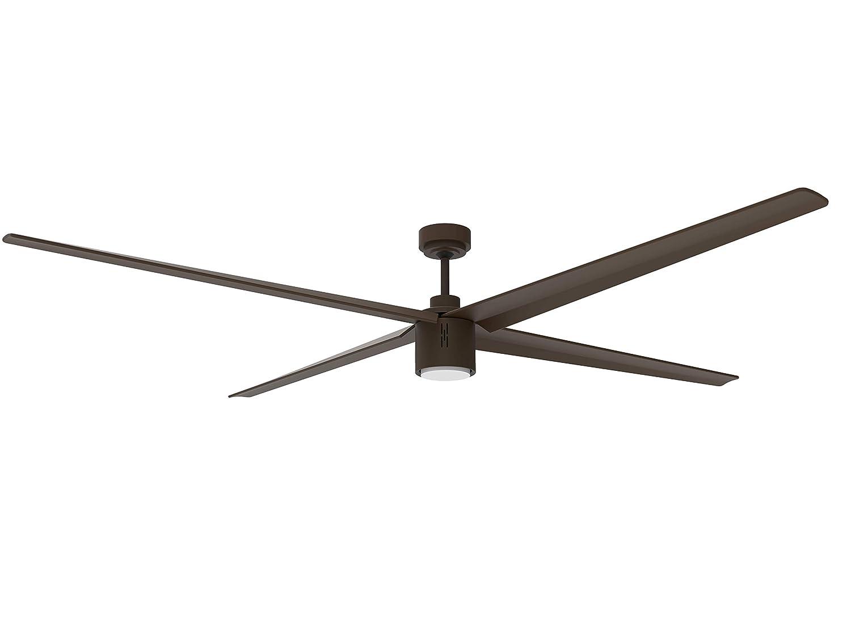 Big Air Industrial Ceiling Fan, 6-Speed Indoor Outdoor Fan w Remote 84-Inch Industrial Ceiling Fan