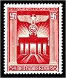 RARE ORIGINAL FULLY GUMMED NAZI STAMP W