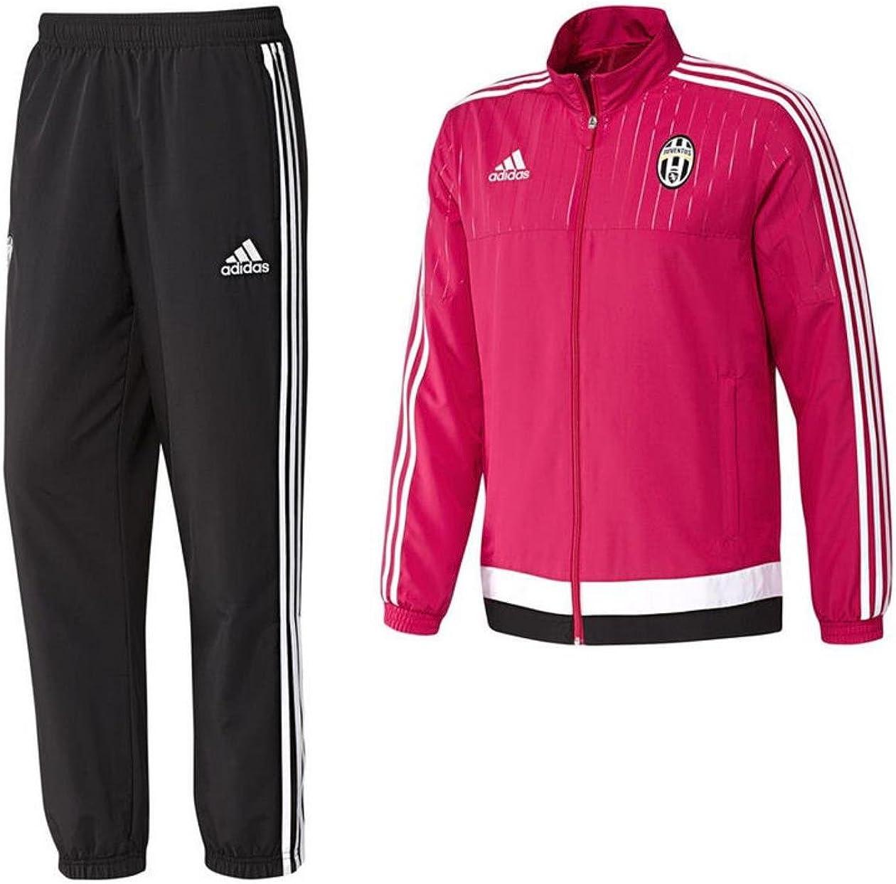 2015-2016 Juventus Adidas PES Tracksuit (Pink) - Kids: Amazon.es ...