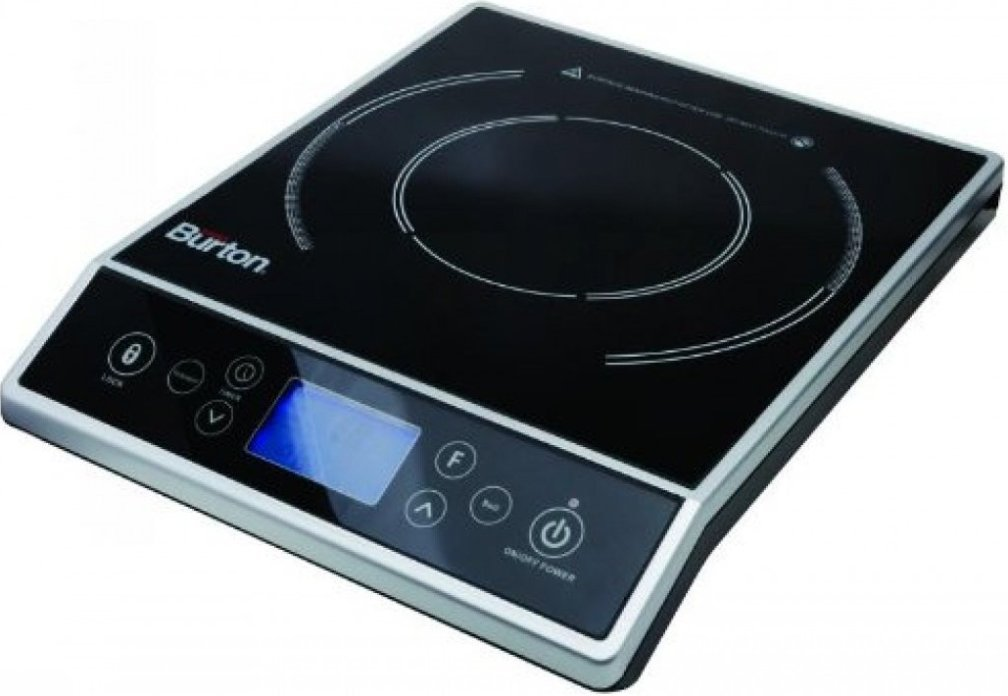 Max Burton 6400 Digital Choice Induction Cooktop 1800 Watts LCD Control by Max Burton