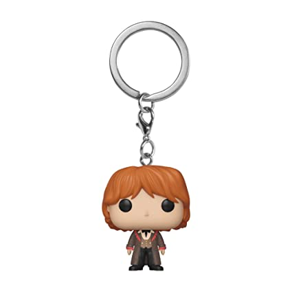 Amazon.com: Funko Pop! Keychains: Harry Potter - Ron (Yule ...