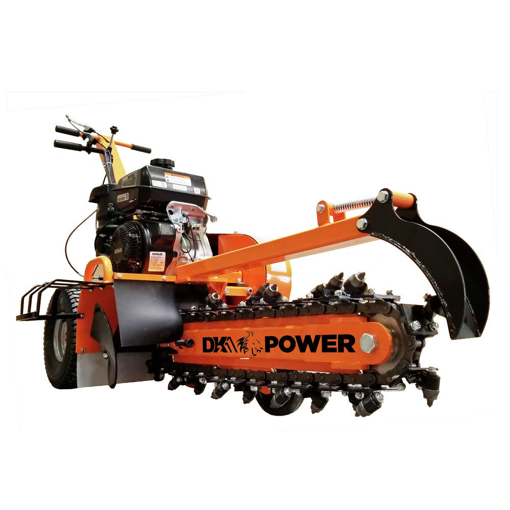DK2 Power 14HP 24'' Trencher with Kohler Engine OPT124 by DK2