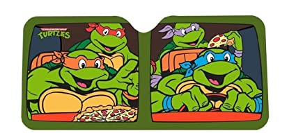 Amazon.com: Las Tortugas Ninja Auto Parabrisas Parasol ...