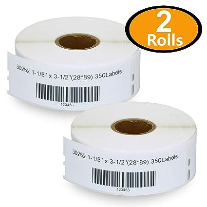 Genuine Seiko SLP-1RL White Address Labels for Seiko SLP100 SLP-100 Smart Label Printers