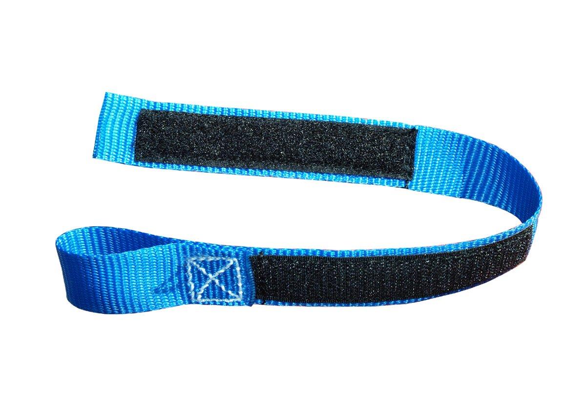 Braun Sangle de Blocage pour Levier de Frein de Moto munie dune Fermeture Velcro 35 cm Bleu