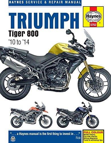 Triumph Tiger 800/800XC, '10-'14 (Haynes Powersport) ()