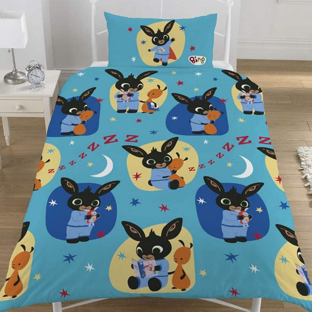 Bing Childrens//Kids Official Bunny Fleece Blanket One Size Multicoloured
