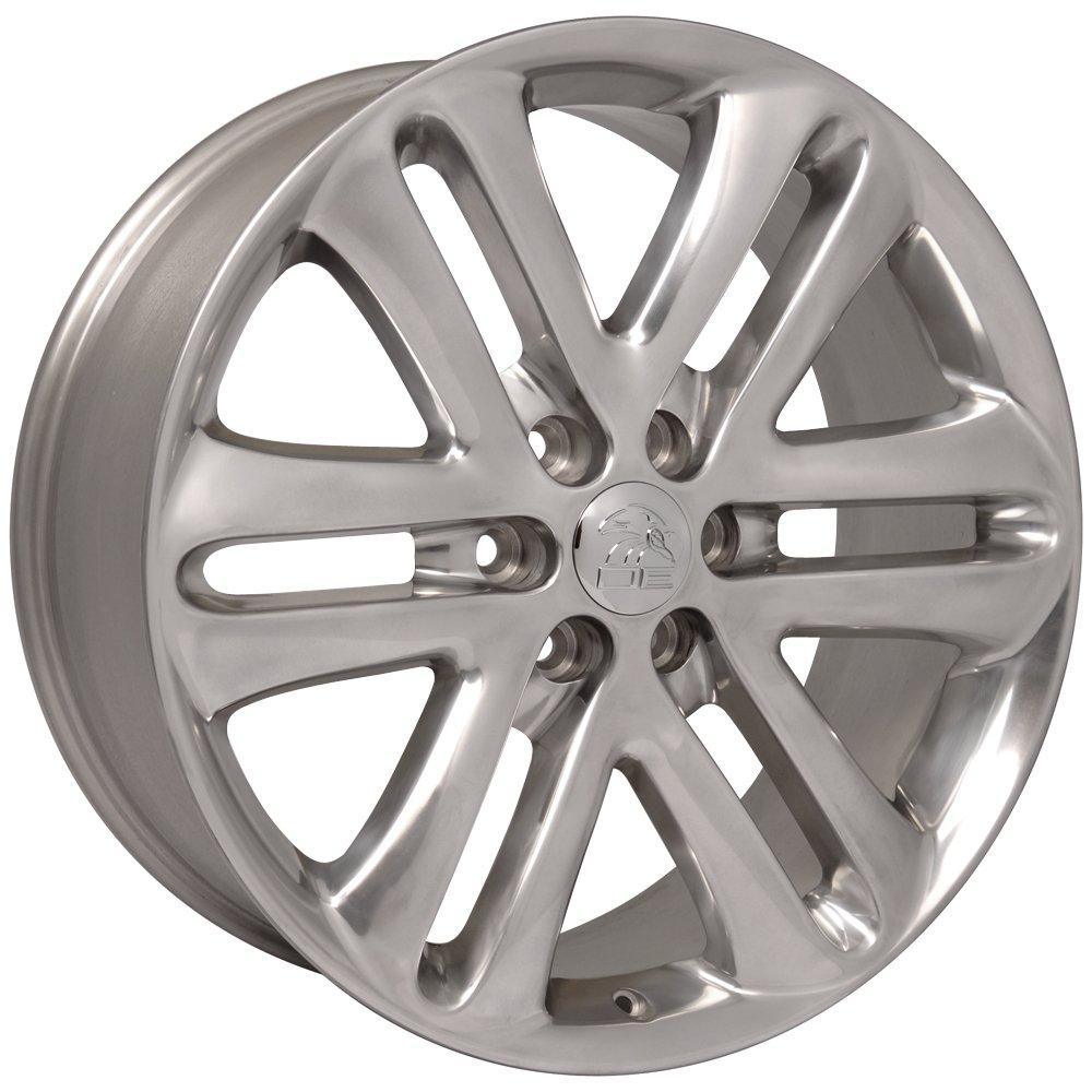 OE Wheels 22 Inch Fits Ford Expedition F150 Lincoln Mark LT Navigator F150 Style FR76 Polished 22x9 Rim Hollander 3918