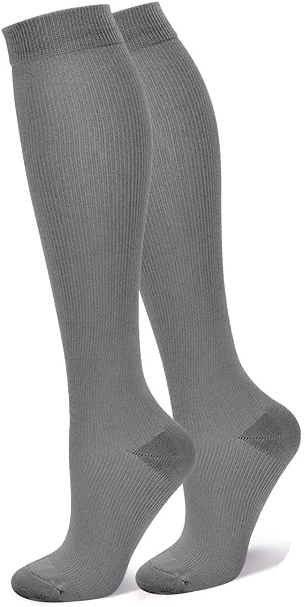 HardyDev Graduated Compression Socks for Women /& Men Boost Endurance Speed Performance Recovery Therapeutic Support Stockings