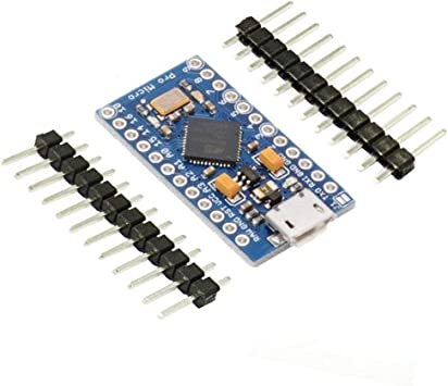 KeeYees Pro Micro ATmega32U4 5V 16MHz Micro USB Placa de ...