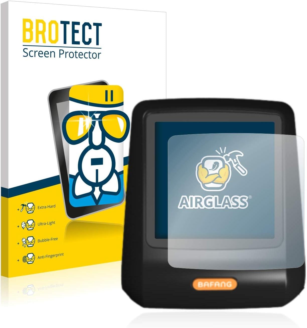 Ultra-Light BROTECT Screen Guard AirGlass Glass Screen Protector for Bafang DP C07 Extra-Hard