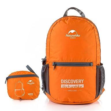 989572de17 Ultralight Travel Daily Folding Backpack Rucksack Daypack portable foldable  Sport Trekking Camping Outdoor Waterproof 15L (