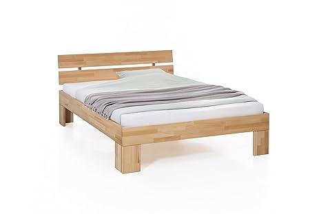 7dfd783cb2 Unbekannt Massivholz-Bett Nano 140 x 200 cm aus Kernbuche, Doppelbett, als  Ehebett