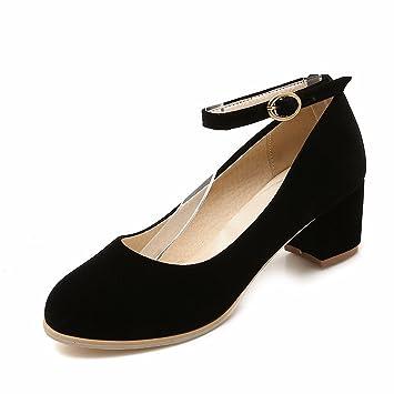 RFF-Women's Shoes Grosse Schuhe, High Heels, Schuhe, Damen, Schuhe, Schwarz, 30.