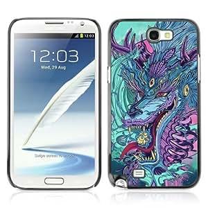 YOYOSHOP [Japanese Dragon Monster] Samsung Galaxy Note 2 Case