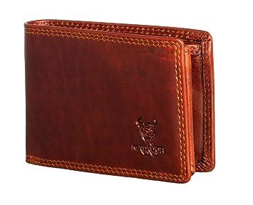 db8c5cff8e902 MATADOR RFID Geldbörse Herren Portemonnaie Geldbeutel Bilbao Vintage Braun