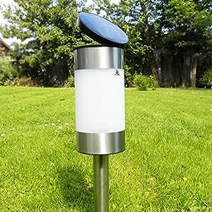 Powerbee saturn luces solares para jard n 2 unidades for Luces solares jardin