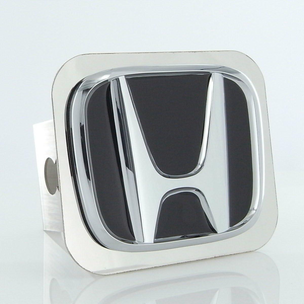 Honda Honda Class II Logo Trailer Hitch Plug INC Chrome Au-Tomotive Gold