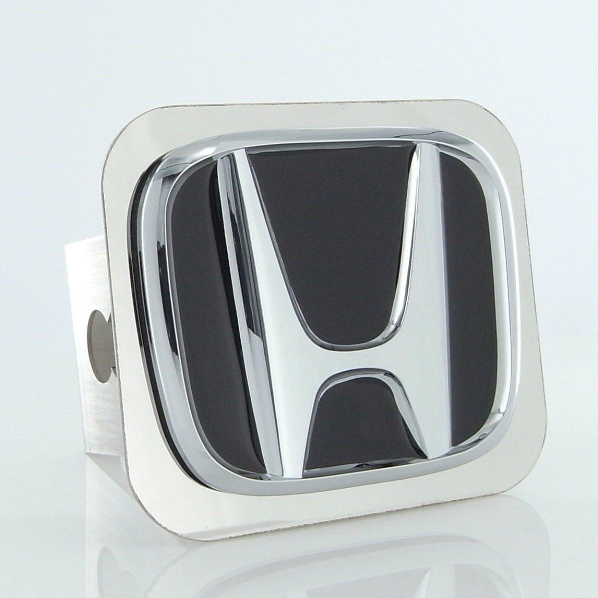 Honda Chrome Logo Trailer Hitch Plug