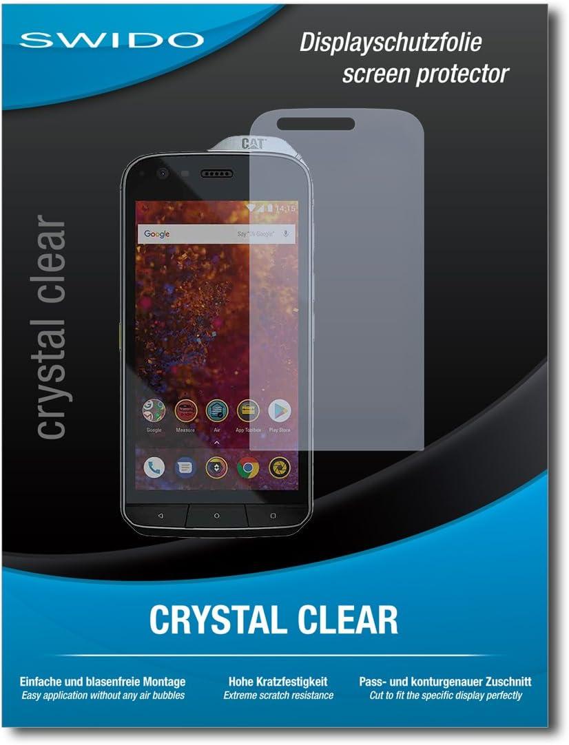 SWIDO® Protector de Pantalla para Caterpillar Cat S61 [Crystal ...