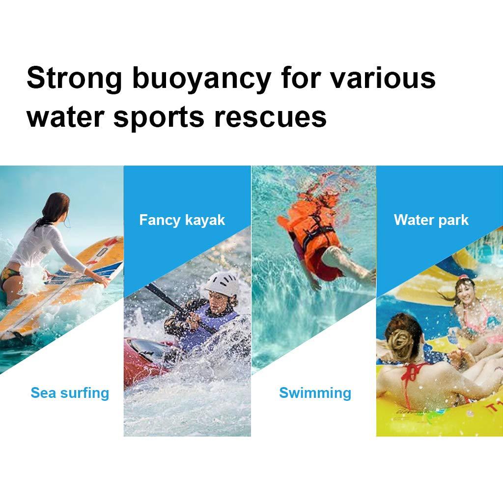 Chaleco de Nataci/ón Unisexo Adulto Hombre Mujer Chaleco de Flotador Chaleco de Neopreno Protecci/ón contra Colisi/ón Mejor para el Surf Kayak