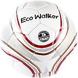 Ecowalker足球 耐磨新品五号加厚TPU足球 室内外训练比赛足球+袋子