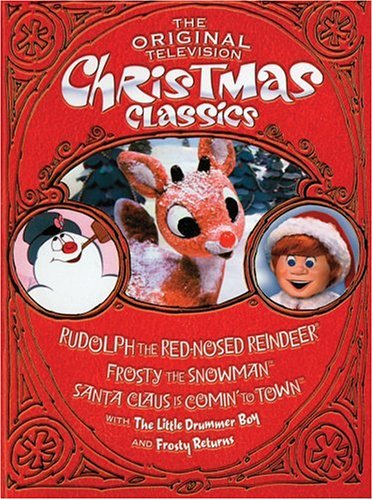 amazoncom the original television christmas classics rudolph the red nosed reindeer santa claus is comin to town frosty the snowman frosty returns - Christmas Classics Dvd