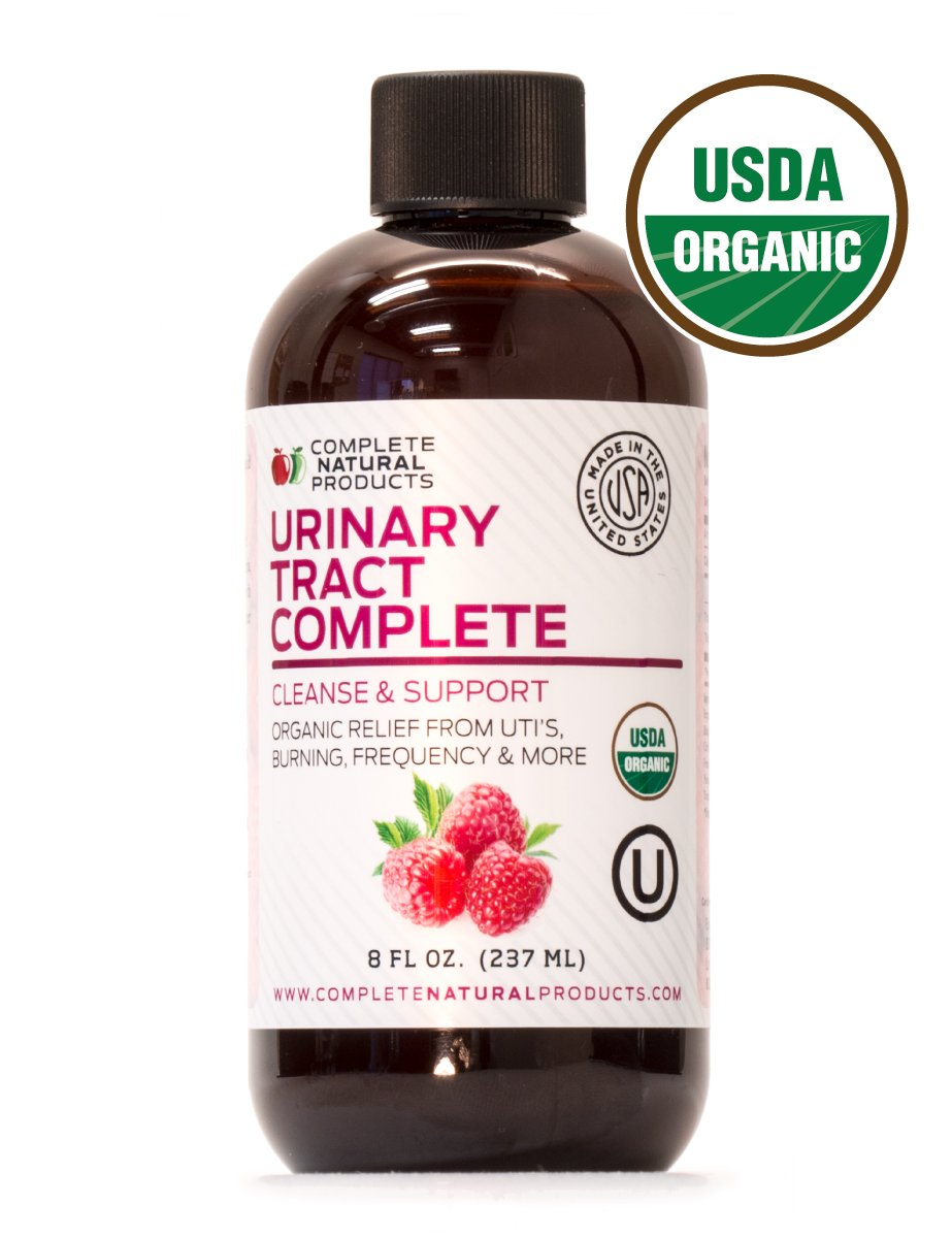 Urinary Tract Complete 8oz - Organic Liquid Bladder, UTI, UTI Prevention, Yeast, Candida Infection Treatment by Complete Natural Products