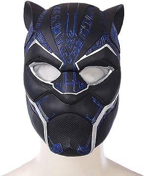 Máscara del Casco Marvel Legends Series Black Panther Carnaval y ...